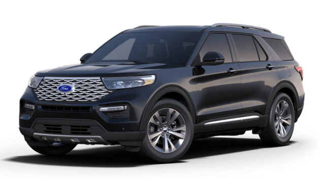 New 2020 Ford Explorer Platinum SUV in Franklin, MA